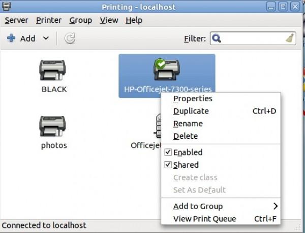 How to add a network printer in Debian/Ubuntu Linux