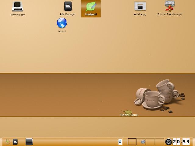 bodhi desktop