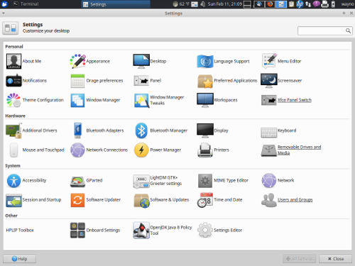 How to set default applications in xubuntu (xfce)